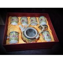 [Glassworks] China Teapot set (Aug. 16.4)
