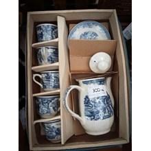 [Glassworks] Set Cup Pot Placemat (Agt. 16.104. A. 1)