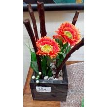 Bunga Plastik Artificial Kayu Pot Ktk (Sep.16.32.Y