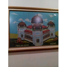[Seni Lukis dan Kaligrafi] Lukisan Kristik Masjid