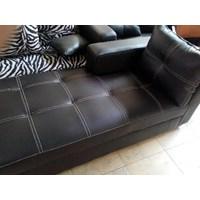 [Kursi Ruang Keluarga] Set Sofa L Tanpa Meja (Okt.