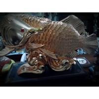 Patung Ikan Koin Arwana (Okt.16.84.Y)