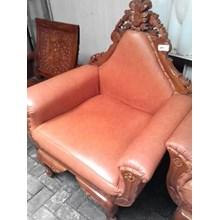 Kursi Sofa Ukir Orange (Des.16.75)