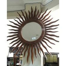 Kerajinan Kayu Cermin Matahari (AW.Jan.17.40)