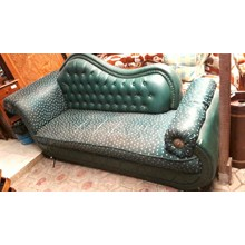 Long Green couch (Mar. 17. S)