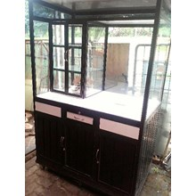 Commercial furniture Carts display case (Apr. 1)