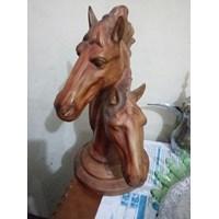 Jual Patung Hewan Kepala Kuda