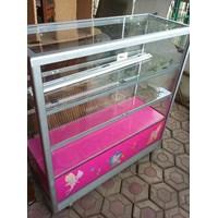 Jual Etalase Pink Perabot Komersial