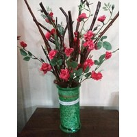 Jual Vas Bunga Pohon Mawar Kayu