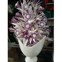 Vas Bunga Beling Putih