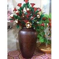 Vas Bunga Pot Kayu