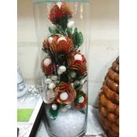 Vas Bunga Natal Toples