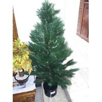 Pohon Natal Hiasan Bunga dan Tanaman Buatan