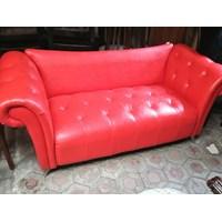 Jual Sofa Merah 2 Dudukan