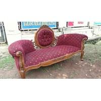 Jual Kursi Sofa Tamu Jati Jok Merah
