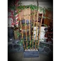 Vas Dan Pot Bunga Pohon Bambu Panjang