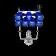 Turbo Jet Aerator 10 HP Mesin Pengolah Limbah Dan Tambak