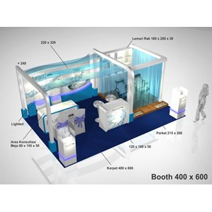 KONTRAKTOR PAMERAN | BOOTH & STAGE By Humkreasi Indonesia