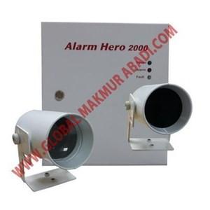 HORING LIH AH-02121 ALARM HERO 2000 OPTICAL BEAM SMOKE DETECTOR