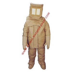ZETEX 2000 SERIES FIRE ENTRY SUIT STYLED FOR BREATHING APPARATUS
