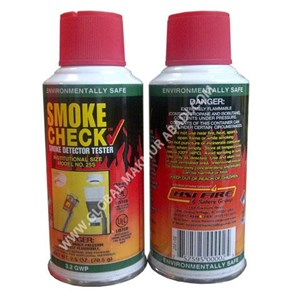 SMOKE CHECK 25S HSI FIRE AND SAFETY GROUP SMOKE DETECTOR TESTER