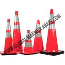 RUBBER TRAFFIC CONE KERUCUT KARET