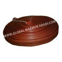 HOOSEKI FIRE HOSE ( RED RUBBER TYPE) 1