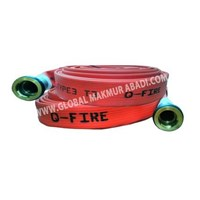 Q-FIRE SYNTHETIC RED RUBBER UNIDUR TYPE FIRE HOSE 1