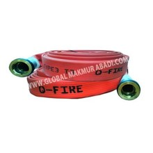 Q-FIRE SYNTHETIC RED RUBBER UNIDUR TYPE FIRE HOSE