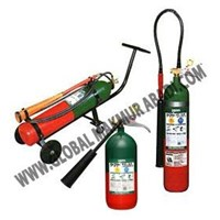 YAMATO CARBON DIOXIDE CO2 FIRE EXTINGUISHER 1