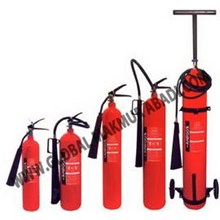 HOOSEKI CARBON DIOXIDE CO2 FIRE EXTINGUISHER