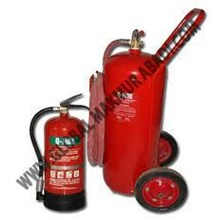 Q-FIRE HALOTRON FIRE EXTINGUISHER.