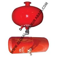 Q-FIRE THERMATIC SPRINKLER HALOTRON FIRE EXTINGUISHER 1