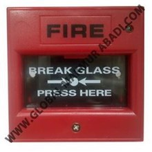SYSTEM SENSOR M400K BREAK GLASS MANUAL CALL POINT.
