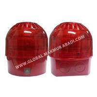 APOLLO XP95A INTELLIGENT OPEN AREA SOUNDER BEACON RED 1