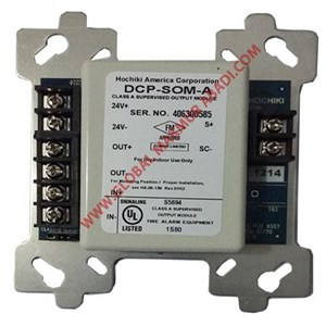 HOCHIKI DCP-SOM-A SUPERVISED OUTPUT MODULE