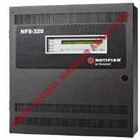 NOTIFIRE ONYX NFS 320 INTELLIGENT ADDRESSABLE MASTER CONTROL PANEL FIRE ALARM 1