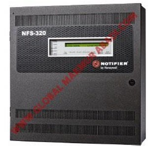 NOTIFIRE ONYX NFS 320 INTELLIGENT ADDRESSABLE MASTER CONTROL PANEL FIRE ALARM