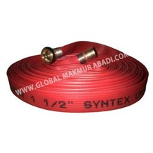 FIREGUARD FIRE HOSE RED RUBBER