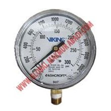 VIKING WATER AND AIR PRESSURE GAUGE.