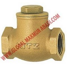 KITZ KITAZAWA SCREW SWING CHECK VALVE.