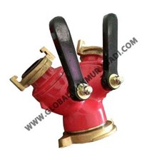 Y CONNECTION BRASS+ALUMINIUM (2 HANDLE) VDH COUPLING