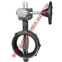 TYCO BFV-N BUTTERFLY VALVE WAFER WITH TAMPER SWITCH 1