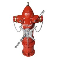 FIREGUARD H-15AP THREE WAY HYDRANT PILLAR 1