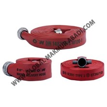 OWS SYNTEX UNIDUR RED RUBBER FIRE HOSE