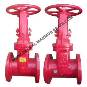 FIREKING By VIKING & OS Y (OUTSIDE SCREW & YORK) GATE VALVE FLANGE ANSI