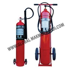SERVVO CARBON DIOXIDE CO2 FIRE EXTINGUISHER NEW