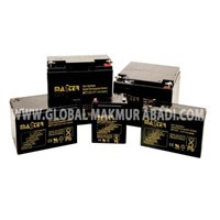 Jual BATTERY MASTER 12 VOLT DC