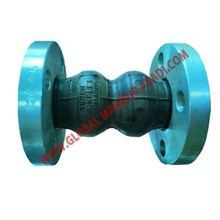 FLEXIBLE RUBBER JOINT TOZEN TWINFLEX  FLANGE JIS 2