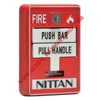NITTAN EVCA-MS-S10K DUAL ACTION MANUAL PULL STATION 1